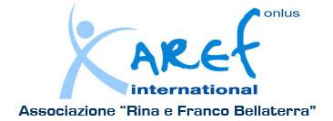 AREF INTERNATIONAL Logo Associazione